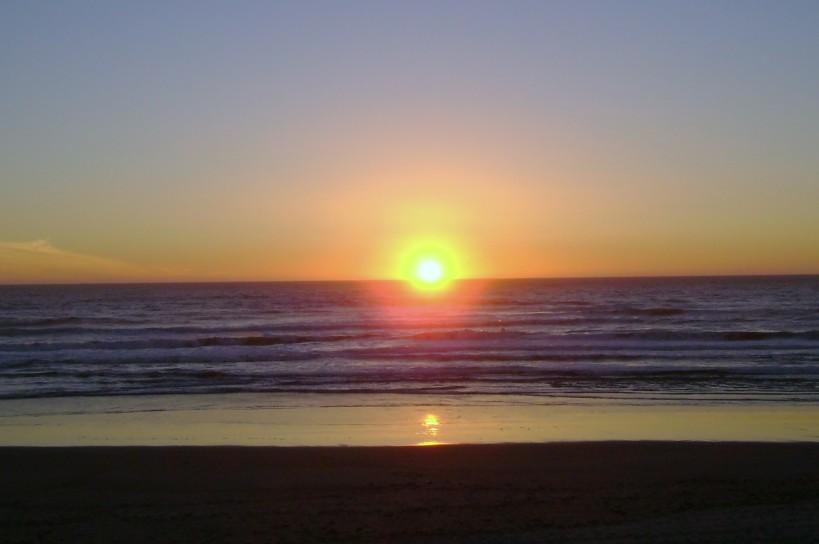 circle sunset